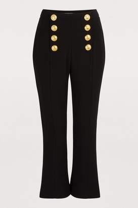dd8671567a50 Balmain Women's Pants - ShopStyle