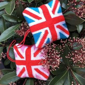 Stitchme Union Jack Mini Tapestry Hanging Decoration Kit
