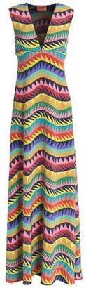 Missoni Printed Silk-Blend Crepe Maxi Dress