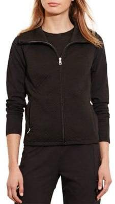 Lauren Ralph Lauren Quilted Stretch-Cotton Jacket