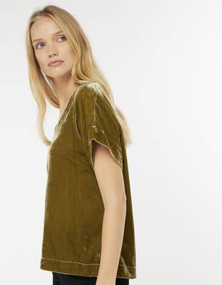 Monsoon Hallie Velvet T-Shirt