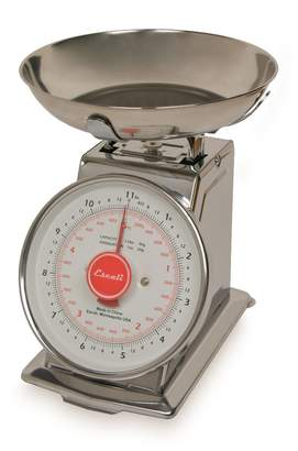 Escali Mercado 11 Pound Dial Scale with Bowl