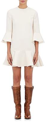 Valentino Women's Ruffled Wool-Silk Dress