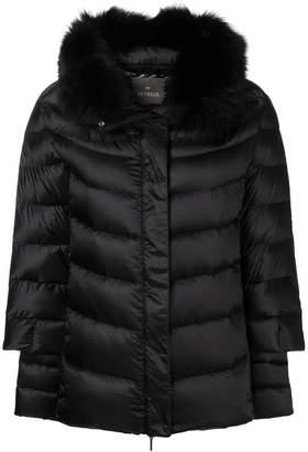 Hetregó fur trimmed puffer jacket
