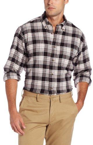 G.H. Bass Men's Long Sleeve Fireside Flannel Shirt