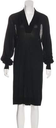 Maison Margiela Long Sleeve Midi Dress