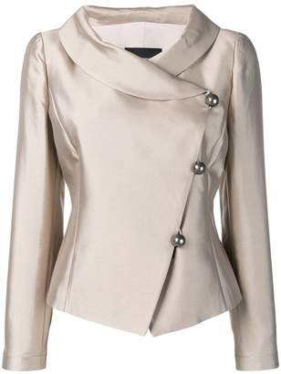 Emporio Armani side button blazer