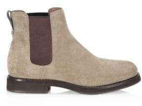 Brunello Cucinelli Two-Tone Suede Chelsea Boots