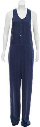 Alexander Wang Sleeveless Wide-Leg Jumpsuit