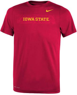 Nike Iowa State Cyclones Legend Sideline T-Shirt, Big Boys (8-20)