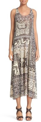 Women's Fuzzi Reversible Tulle Midi Dress $640 thestylecure.com
