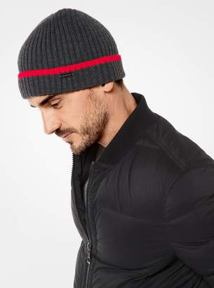 Michael Kors Ribbed Knit Beanie