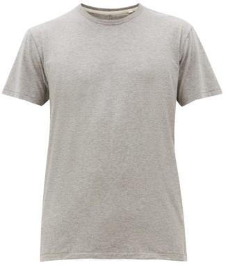 Rag & Bone Base Cotton T Shirt - Mens - Grey