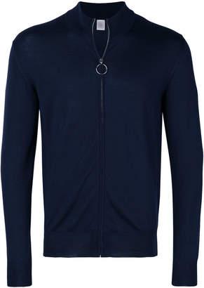Eleventy zip front sweatshirt