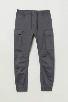 H&M Cargo Joggers - Gray