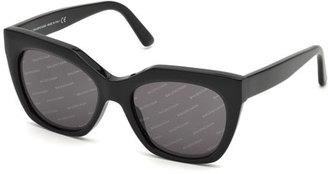 Logomania Square Acetate Sunglasses