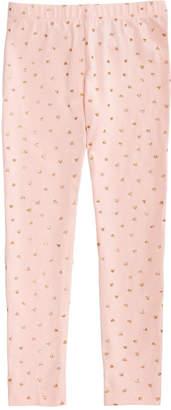 Epic Threads Little Girls Heart-Print Leggings, Created for Macy's