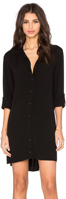 Splendid Button Down Shirt Dress $158 thestylecure.com