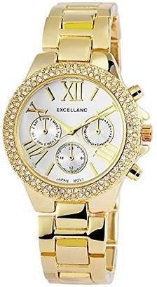 Excellanc 150802500030 Women's Wristwatch Analogue Quartz Alloy
