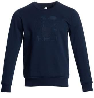 G Star Raw Shield Core-Embroidered Sweatshirt