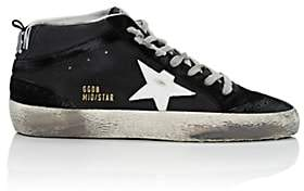 Golden Goose Women's Mid Star Leather & Suede Sneakers-Black