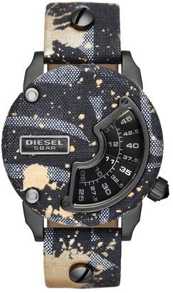 Diesel Men's Mini Daddy Alrite Replica Watch $295 thestylecure.com