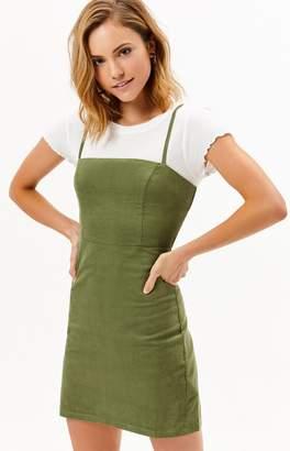 TWIIN Tangent Corduroy Mini Dress