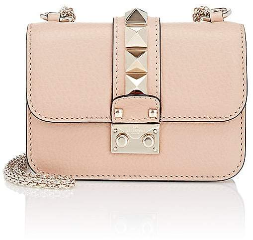 Valentino Garavani Women's Rockstud Mini Leather Shoulder Bag