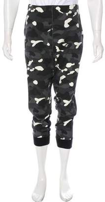 A Bathing Ape City Camo Logo Joggers