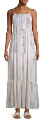 Splendid Arco Iris Stripe Long Sundress