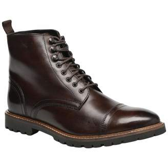 7764e3d2a586b8 at Amazon Canada · Base London Mens Siege Washed Leather Boots 8 US