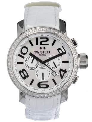 TW Steel Unisex TW54 Diamond Chronograph Watch