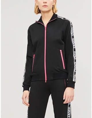 Versace Tape stretch-jersey jacket