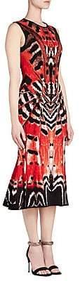 Alexander McQueen Women's Sleeveless Midi Dress