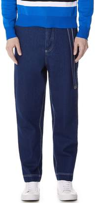 Ami Carrot Fit Worker Jeans