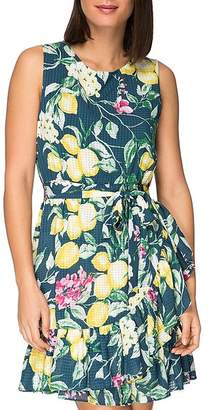 Bobeau B Collection by Amina Sleeveless Floral-Print Dress