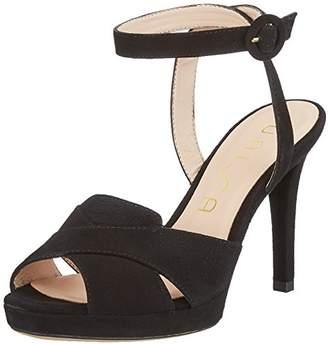 Unisa Women's TISON_KS Open Toe Sandals, Black