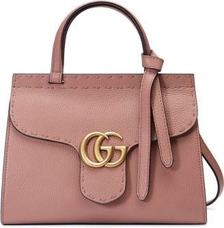 GG Marmont leather top handle mini bag $1,890 thestylecure.com