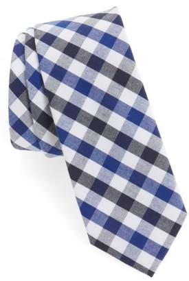 Men's 1901 Check Cotton Tie $19 thestylecure.com