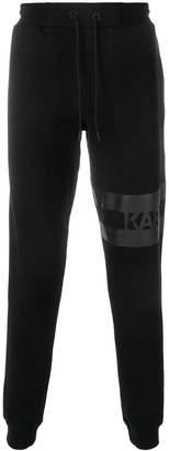 Karl Lagerfeld logo track trousers