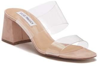 Steve Madden Clarity Block Heel Sandal