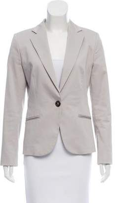 Gianfranco Ferre Long Sleeve Notch-Lapel Blazer