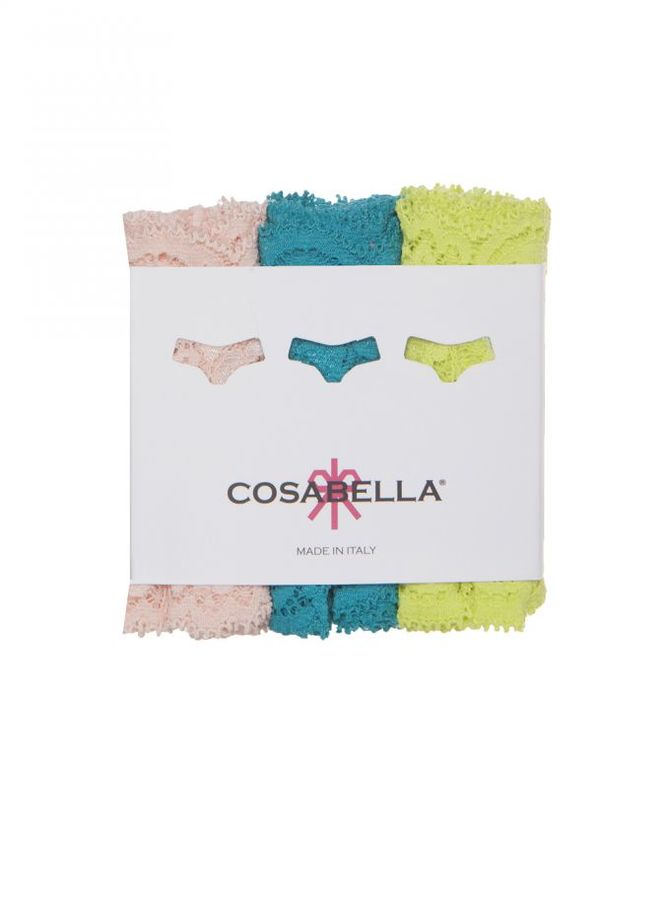 Cosabella Never Say Never Cozietm Thong 3-Pack