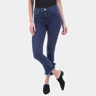 Iro . Jeans Iro Jeans Berry Flared Hem High-Rise Jean in Deep Wash