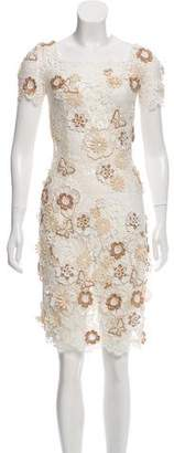 Dolce & Gabbana Lace Appliqué Dress