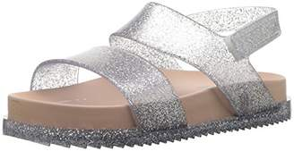 Mini Melissa Girls' Mini Cosmic Flat Sandal,6 Medium US Toddler