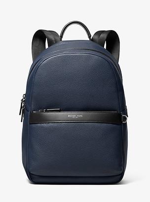 e50bd346c0 Michael Kors Greyson Pebbled Leather Backpack