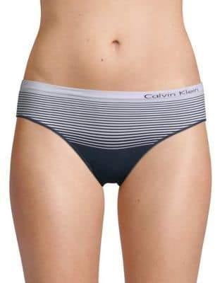 Calvin Klein Seamless Striped Hipster Briefs