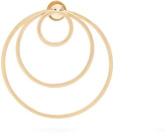 Delfina Delettrez Yellow-gold hoop single earring