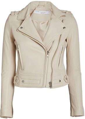 IRO Luiga Cropped Moto Jacket